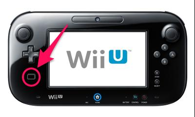 WiiUゲームパッドのNFCリーダー