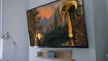 テレビに映像を表示